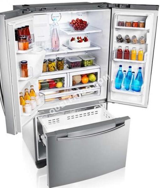 Réfrigérateur Portes SAMSUNG RFGUERS Spécial - Refrigerateur 3 portes